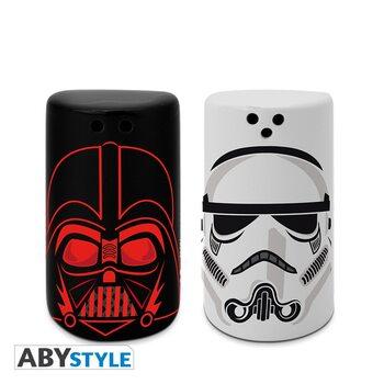 Emputadores de sal y pimienta Star Wars - Darth Vader & Stormtrooper