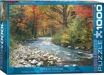 Puzzel Forest Stream