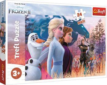 Puzzle Frozen, el reino del hielo 2