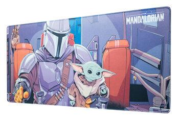 Gamer Szőnyeg az asztalon - Star Wars: The Mandalorian