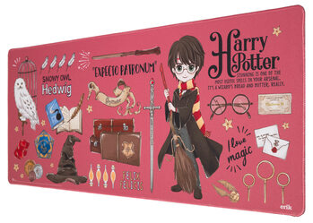Gaming Matta för skrivbord - Harry Potter