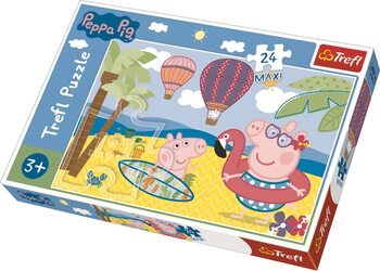 Puzzle Greta Gris (Peppa Pig)