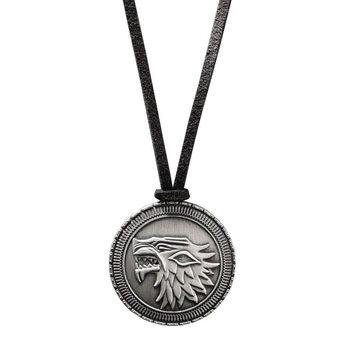 Halskjede Game of Thrones - Stark Shield