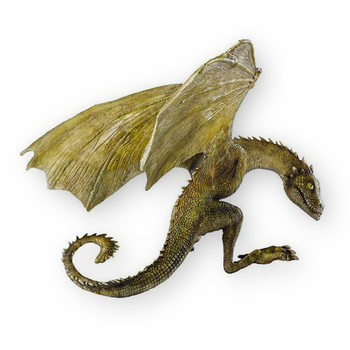 Statuetta Il Trono di Spade - Rhaegal Baby Dragon