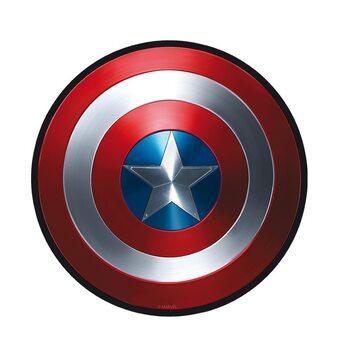 Juego de azar Alfombrilla de ratón Captain America