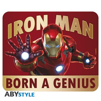 Juego de azar Alfombrilla de ratón Iron Man - Born to be a Genius