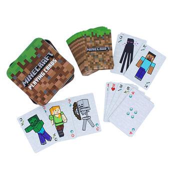Jugando a las cartas - Minecraft