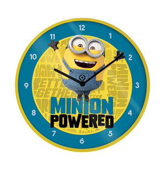 Klok Minions (Verschrikkelijke Ikke) - The Rise of Gru - Minion Powered