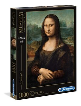 Puzle Leonardo Da Vinci - Mona Lisa