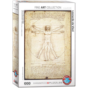 Πъзели Leonardo da Vinci - The Vitruvian Man