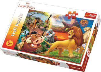 Puzzle Leví kráľ: Simba's Adventures