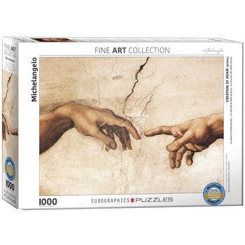 Puzzle Michelangelo - Creation of Adam (Detail)