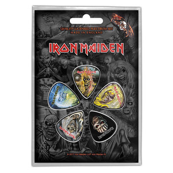 Plectrums Iron Maiden - The Faces of Eddie