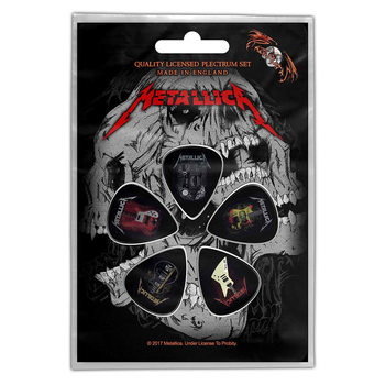 Plektre Metallica - Guitars
