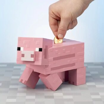 Pokladnička Minecraft - Pig