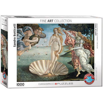 Pussel Sandro Botticelli - Birth of Venus