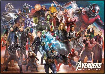 Skrivebordsmåtte Avengers: Endgame - Line Up