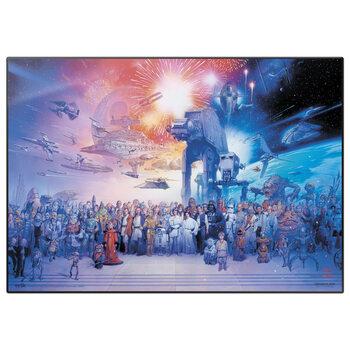 Skrivebordsmåtte Star Wars - Legacy Characters