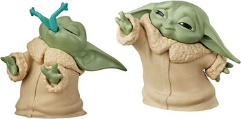 Figur Star Wars: The Mandalorian - Baby Yoda Collection 2 pcs (Froggy & Force)