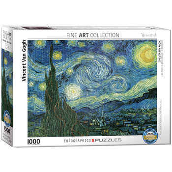 Puzzel Starry Night by van Gogh