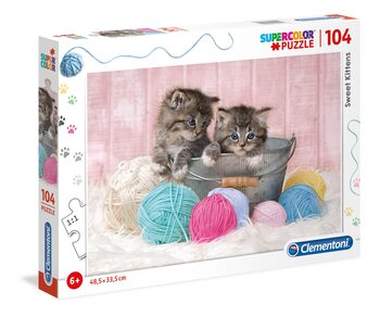 Puzzel Sweet Kittens