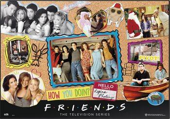 Tapis de bureau de jeu Friends