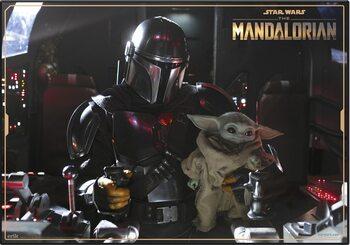 Tapis de bureau de jeu Star Wars: The Mandalorian