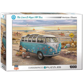 Puslespil The Love & Hope VW Bus