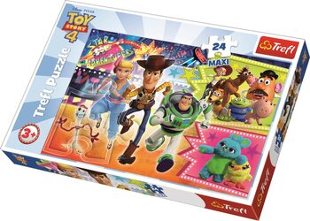 Puzzle Toy Story 4: Příběh hraček