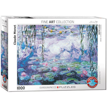 Puzzel Waterlilies by Claude Monet