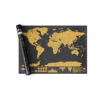 Kras wereldkaart World Deluxe Edition