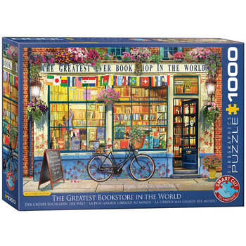 Παζλ World's Greatest Bookstore