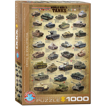 Puzzel World War II Tanks