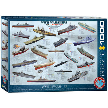 Puzzle WW II Warships
