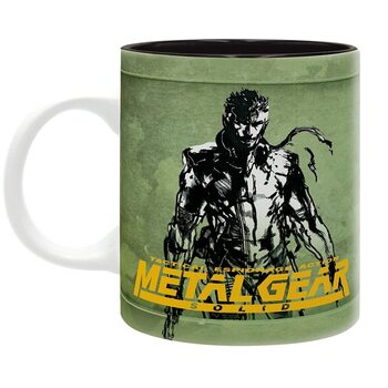 Taza Metal Gear Solid - Fox Hound