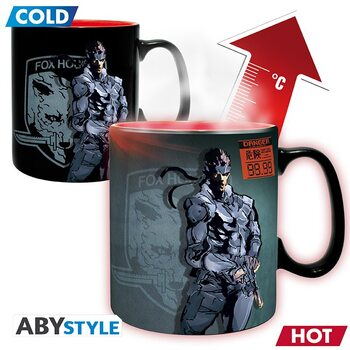 Taza Metal Gear Solid - Snake