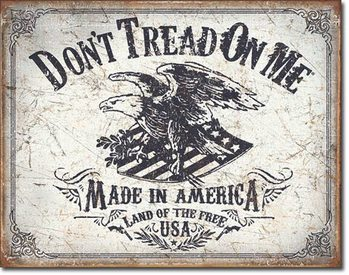 Mетална табела DTOM - Land of the Free