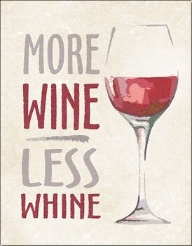 Μεταλλική πινακίδα More Wine