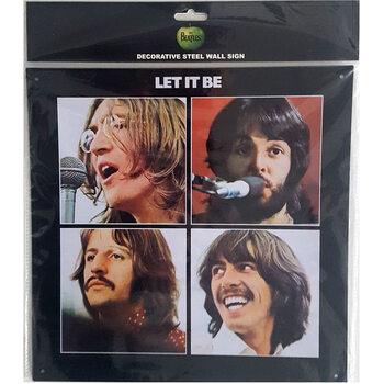 Μεταλλική πινακίδα The Beatles - Let It Be