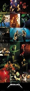 Metallica - live 2012 - плакат (poster)