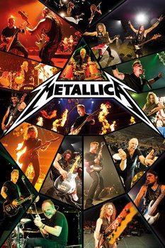 Metallica - live - плакат (poster)