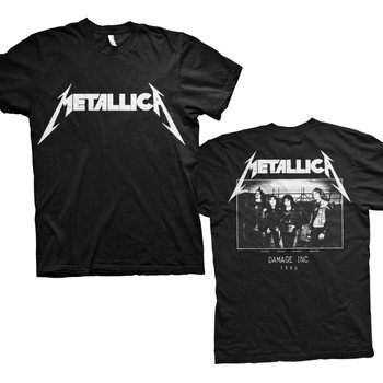 T-Shirt Metallica - Master Of Puppets Photo