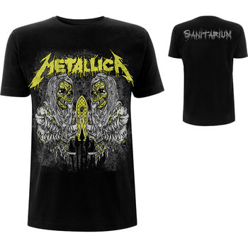 T-Shirt Metallica - Sanitarium
