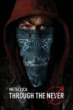 Metallica - through the never - плакат (poster)
