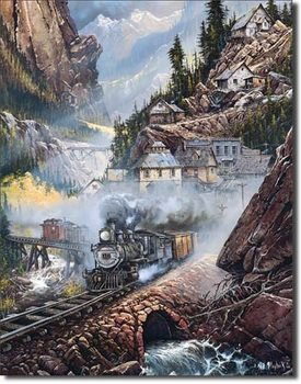 Blechschilder Blaylock - Silverdale Run