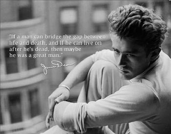 JAMES DEAN - Great Man Metallschilder