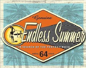 ENDLESS SUMMER - genuine Metallskilt