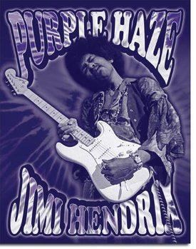 Jimi Hendrix - Purple Haze Metallskilt