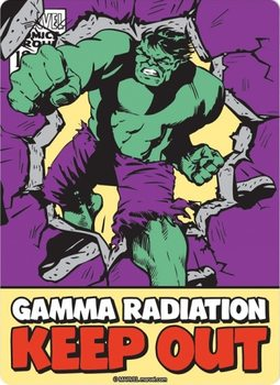 Marvel - Hulk Metallskilt
