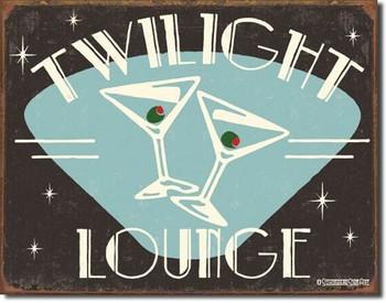 SCHOENBERG - twilight lounge Metallskilt